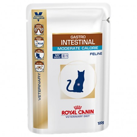 Royal Canin Gastro Intestinal Gato Moderate Húmedo 100 Grs