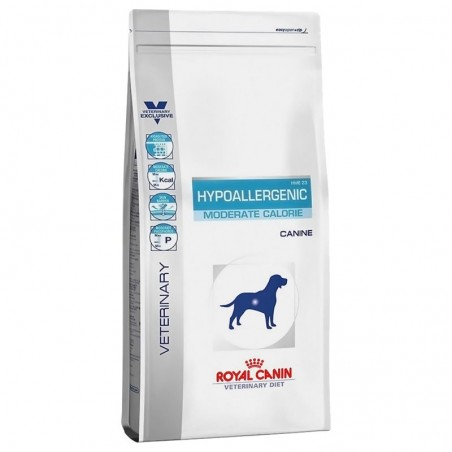 Hypoallergenic Moderate Calorie Perro Royal Canin