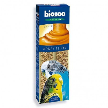 Biozoo Barritas Miel Periquitos