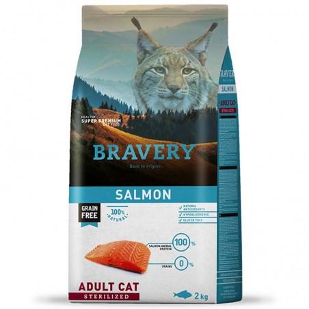 Bravery Gato Adulto Esterilizado Salmón