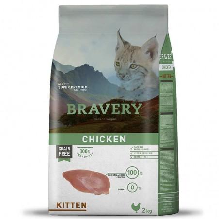 Bravery Gato Kitten 2 Kg