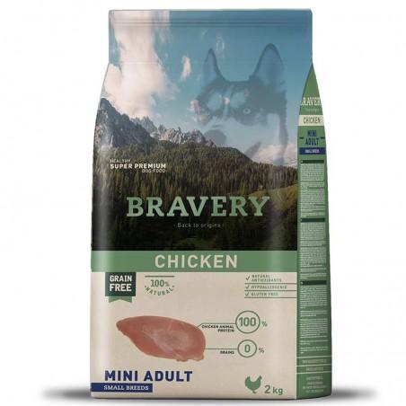 Bravery Perro Adulto Mini Pollo