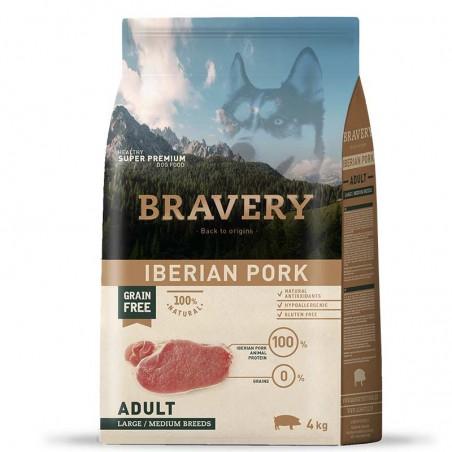 Bravery Perro Adulto Medium-Grande Cerdo Ibérico