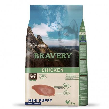 Bravery Perro Adulto Mini Puppy Pollo