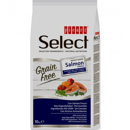 Grain Free Salmón Menu
