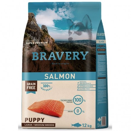 Bravery Salmon Puppy Medium-Grande