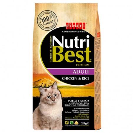 NutriBest Cat Chicken & Rice / 2 kg